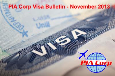 November 2013 Visa Bulletin