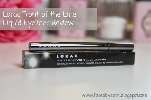 Lorac Front of the Line PRO Liquid Eyeliner Review