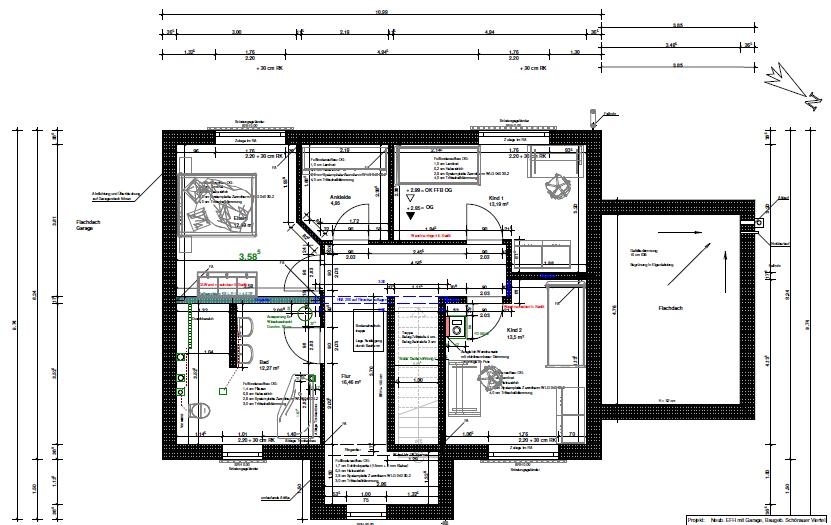 projekt hausbau grundrisse und ansichten. Black Bedroom Furniture Sets. Home Design Ideas