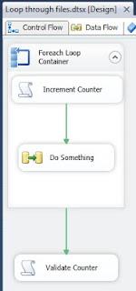 Validate number of files within foreach loop