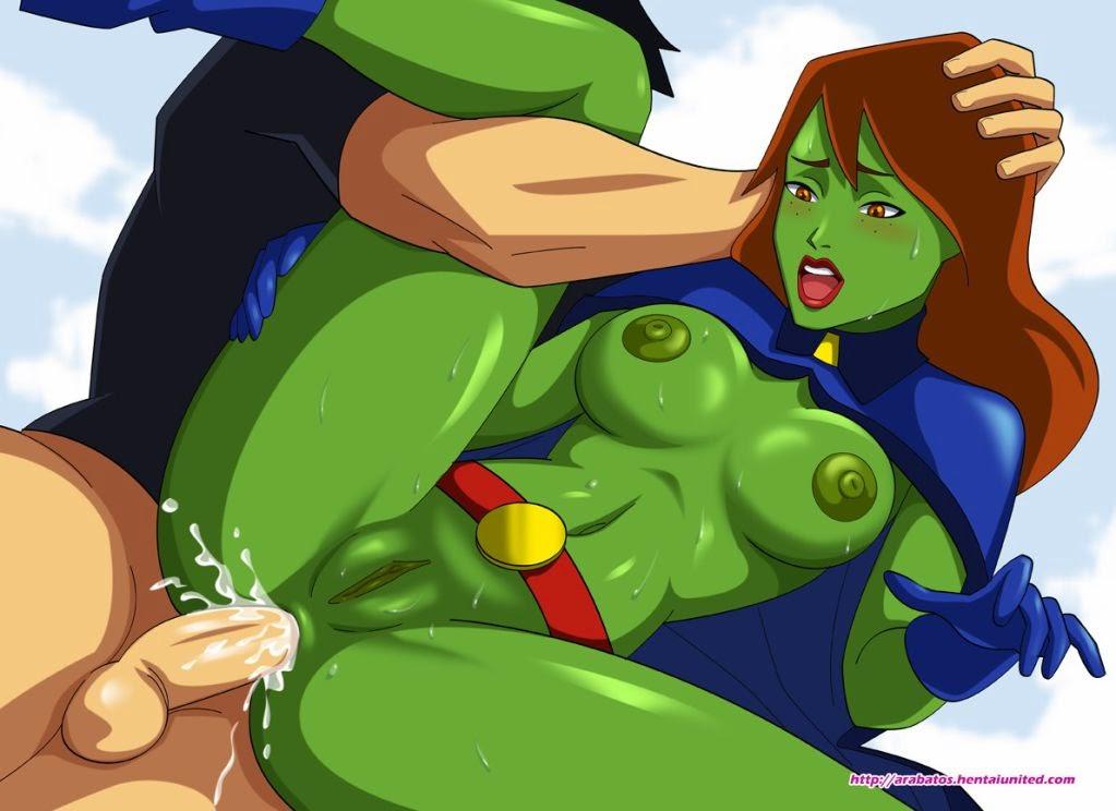 Лига справедливости порногерои