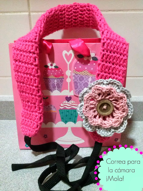 crochet camera strapcover
