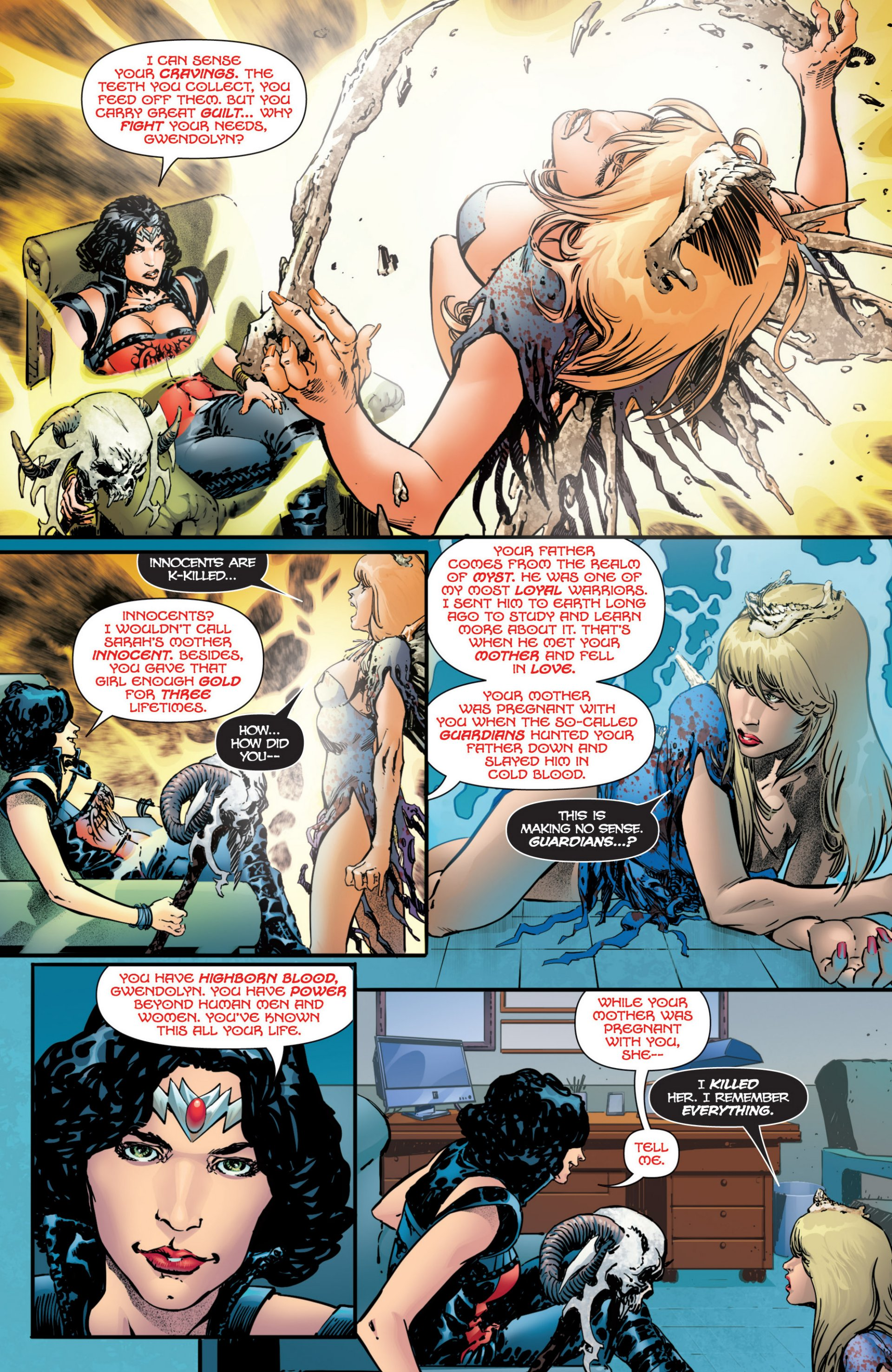 Grimm Fairy Tales (2005) Issue #97 #100 - English 10