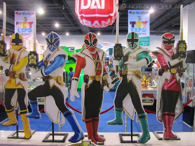 Power Rangers Toy Expo 2012