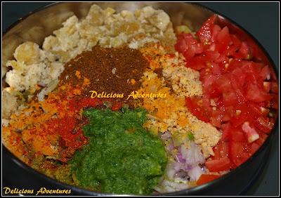 Bharli Vangi mixture