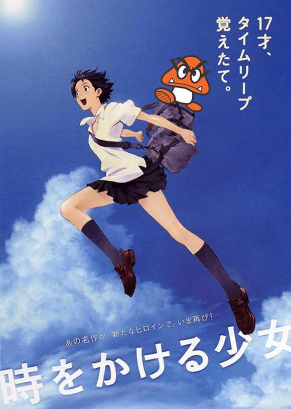 Toki o Kakeru Shōjo ( a garota que saltava no tempo)
