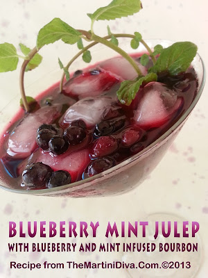 Blueberries + Bourbon Recipe — Dishmaps