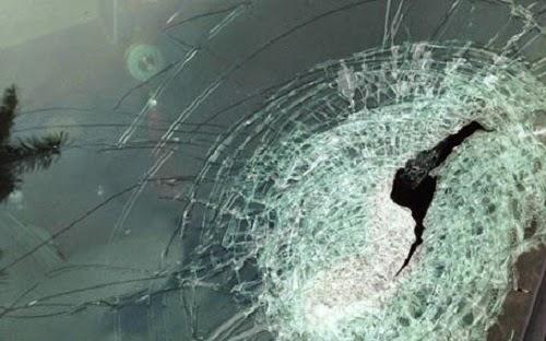 Lại xảy ra nạn ném đá lên xe ôtô trên Quốc lộ 14