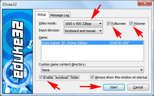 Download Duke Nukem 3D PC Game - High Resolution Pack