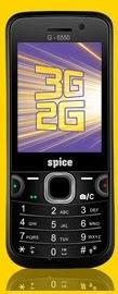 3G Dual SIM Mobile Spice G-6550