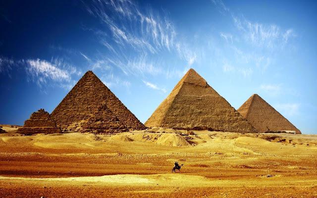 Peneliti Ungkap Cara Orang Mesir Bangun Piramida
