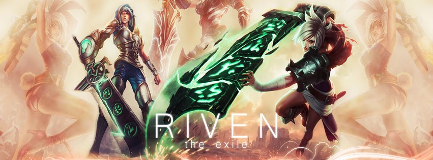 Riven League of Legends Facebook Cover PHotos