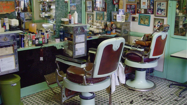 CITY NUT: Barber Shop Tiles