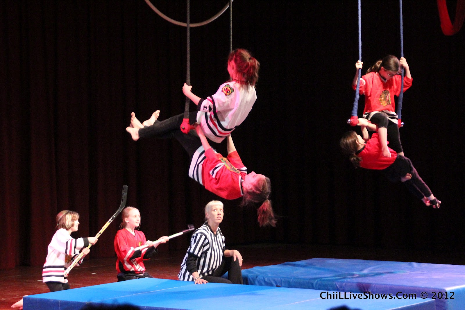 ChiIL Live Shows CircEsteems Final 3 Spring Circus Shows