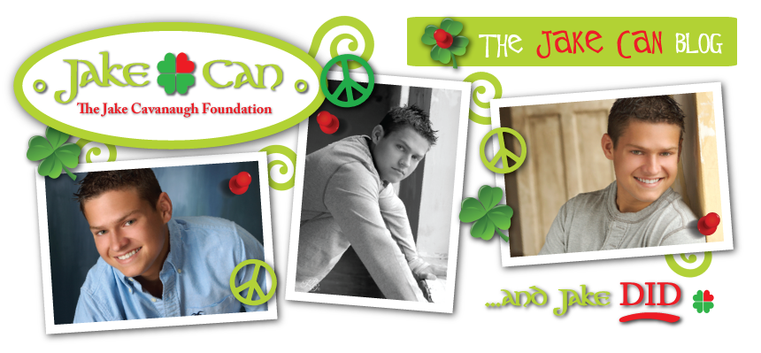 Jake Can - The Jake Cavanaugh Foundation