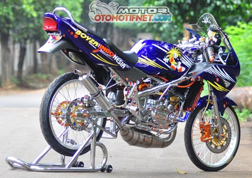 Modifikasi Kawasaki Ninja 150RR