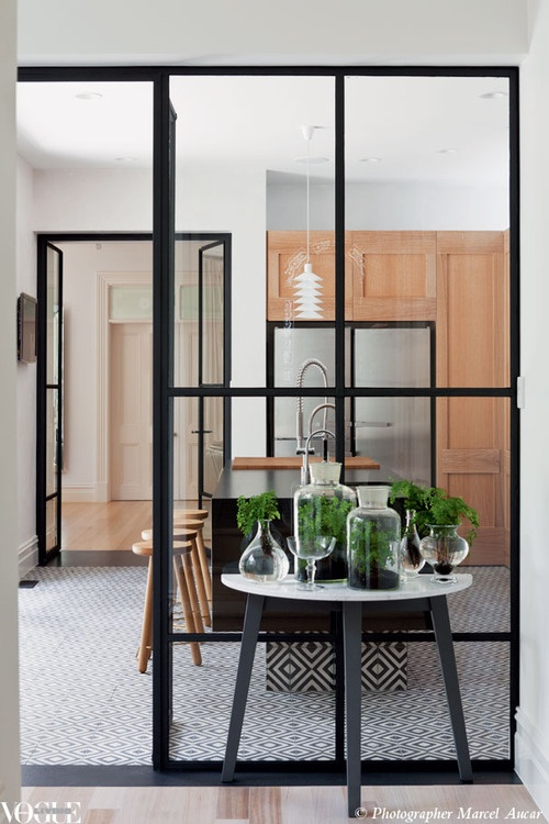 chicdeco 10 beautiful interiors with black framed