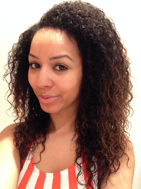 refresh dry curly hair