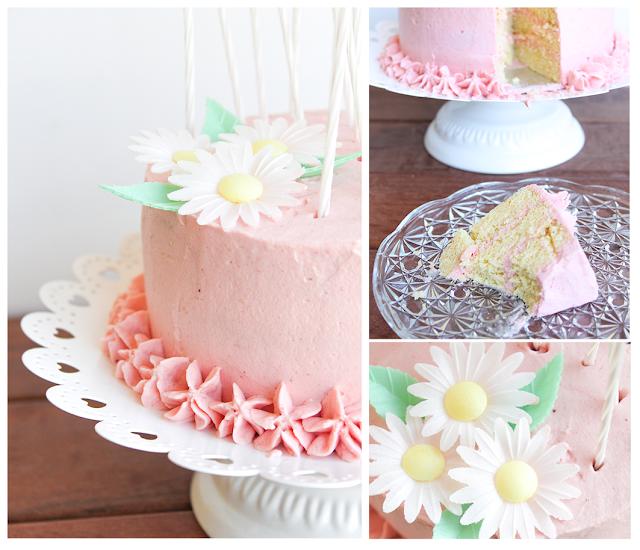 Decoración tarta cumpleaños niña