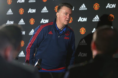 LVG walks out of press conference