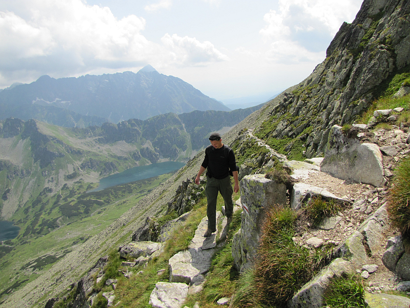 W drodze na Przełączkę nad Buczynową Dolinką.