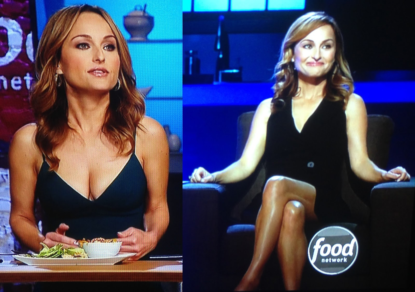 Food network boobs