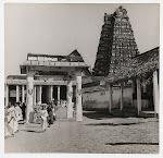 View+of+Srirangam+Temple+-+Tamil+Nadu,+c1930's