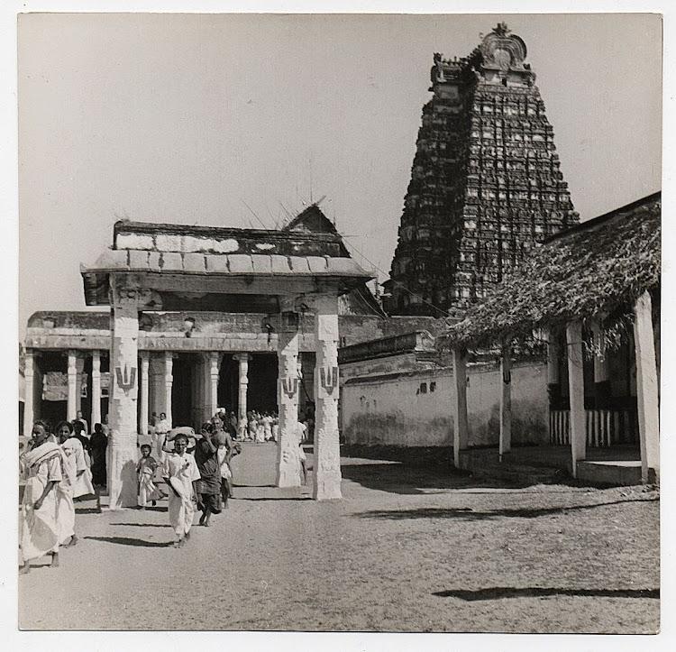 View of Srirangam Temple - Tamil Nadu, c1930's