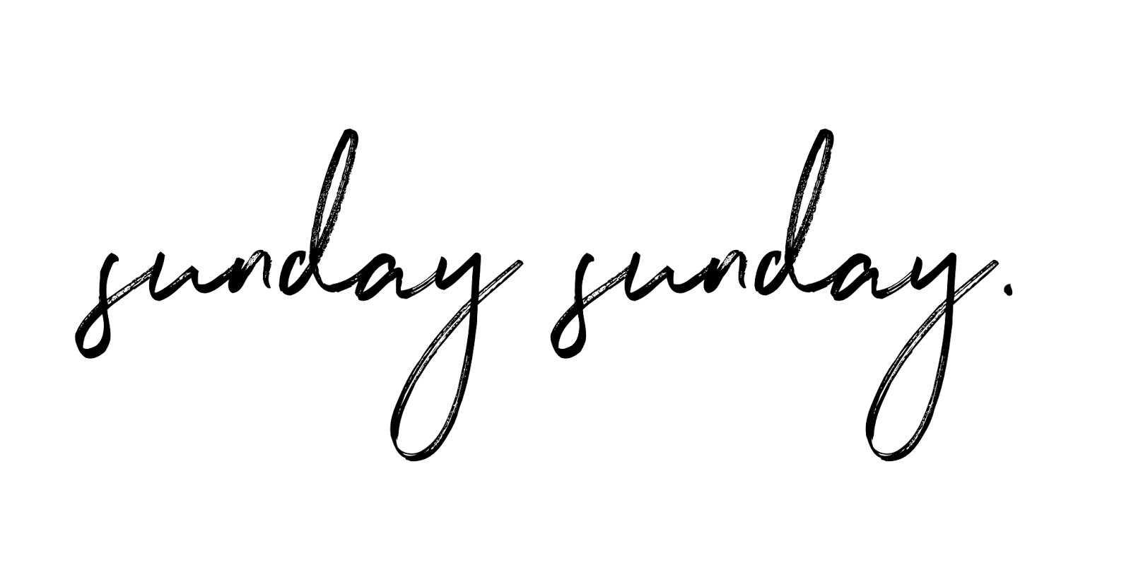 sunday sunday | uk lifestyle blog