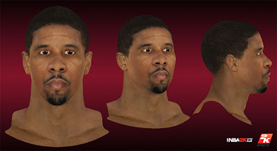 NBA 2K13 Andre Miller Cyberface Patch