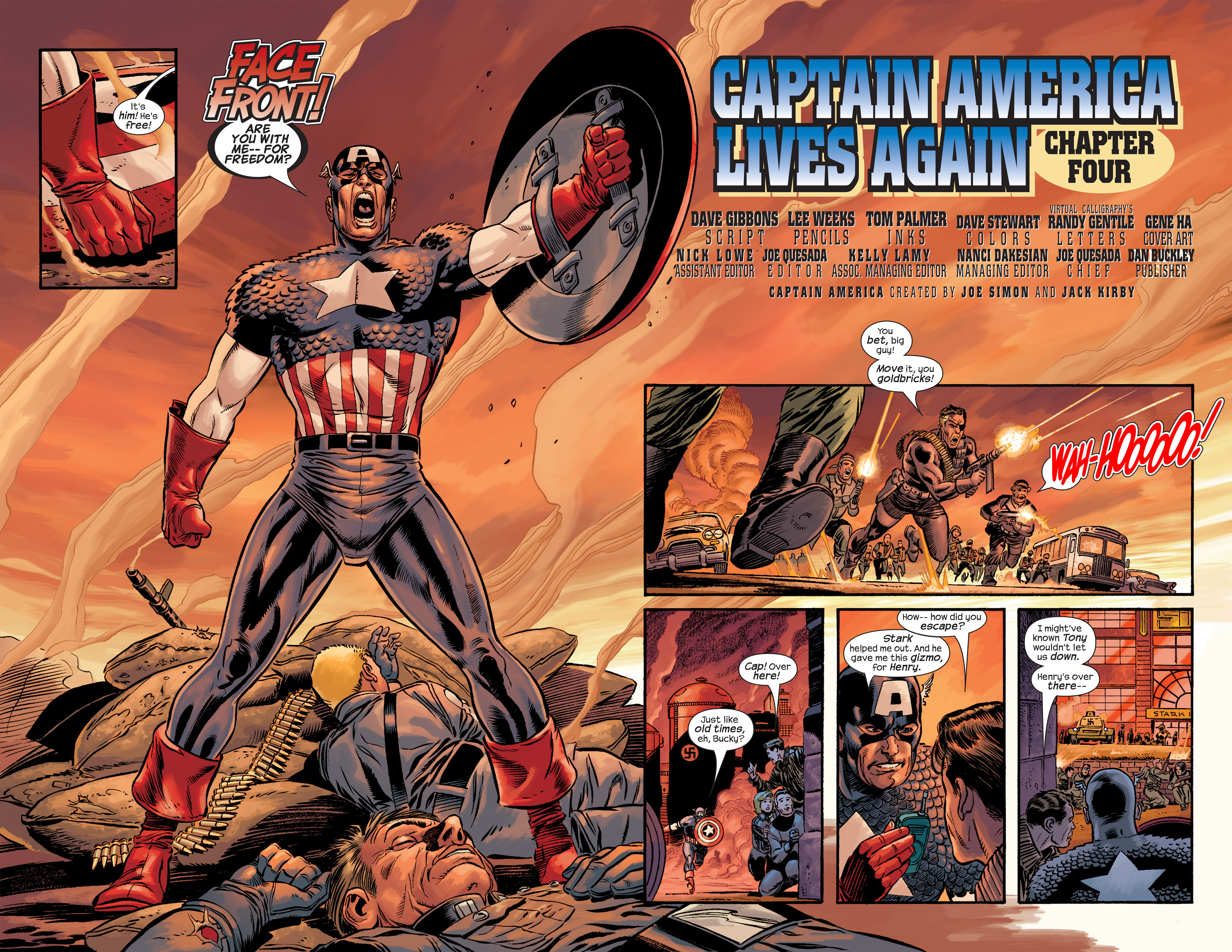 Captain America (2002) Issue #20 #21 - English 4