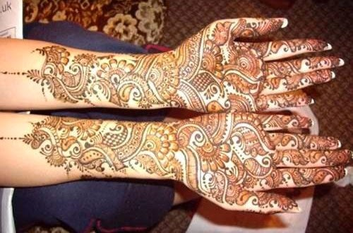 Mehndi Bridal Design Latest : Special wedding and eid mehndi designs latest handmade