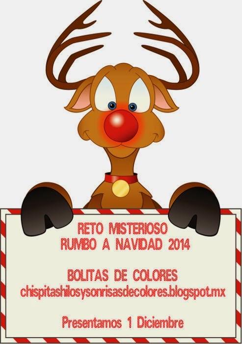 Reto amistoso rumbo a Navidad 2014 propuesto por Montserrat