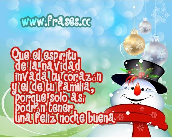 Frase de navidad acerca del espíritu de la navidad