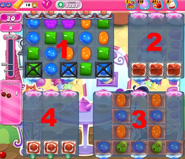 Candy Crush Saga 1261