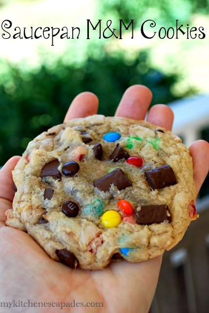 Saucepan Monster M&M Cookies