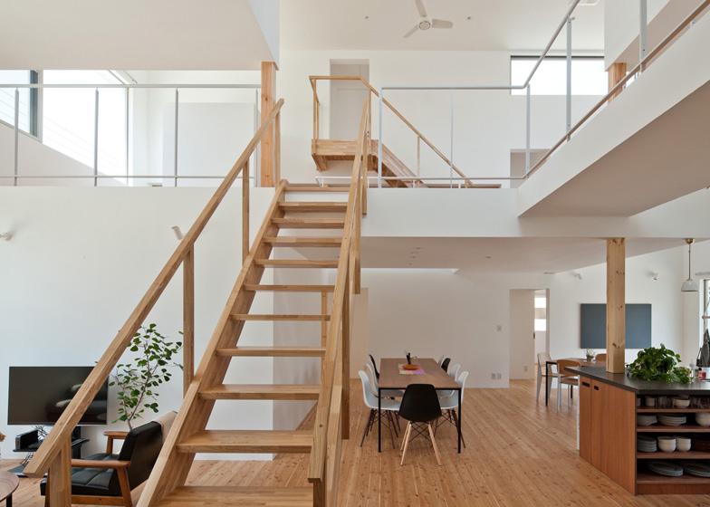 Naruse inokuma casa comue design lt josai arc art blog for Case a pianta aperta