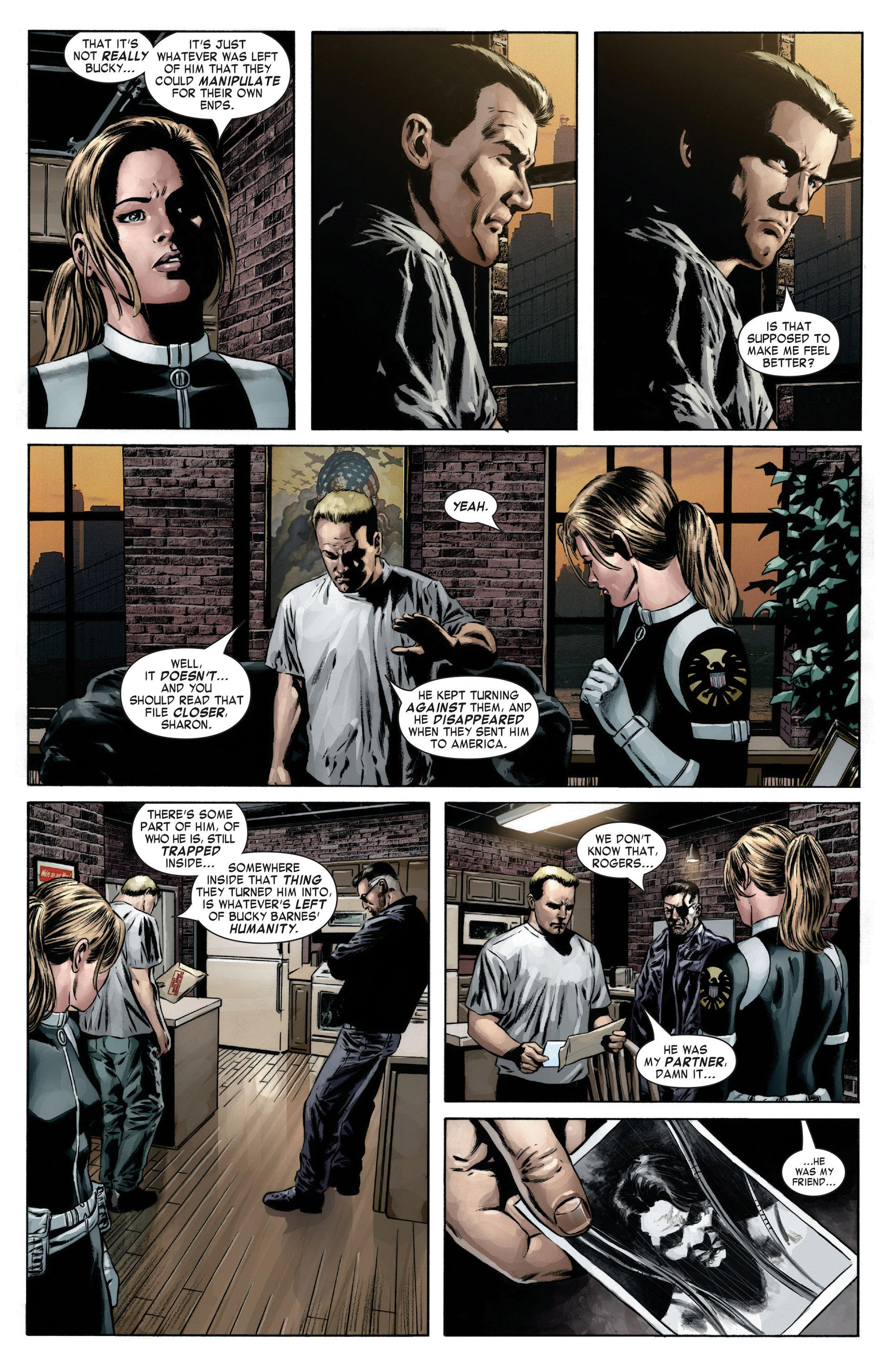 Captain America (2005) Issue #12 #12 - English 6
