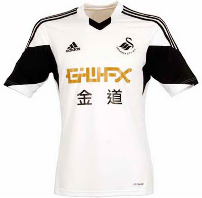 Swansea City Jersey Home
