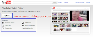 Mengedit video di YouTube dan adsense video