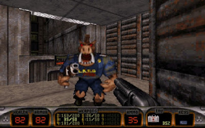 Duke Nukem 3D Gameplay Youtube