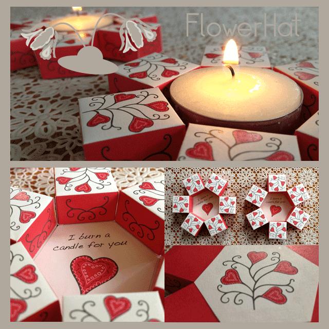 Valentijn FlowerHat