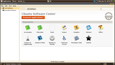 Ubuntu Software Center, Nisan