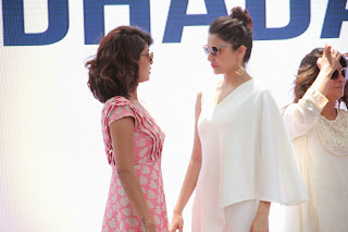 Actress Priyanka Chopra Latest Pictures in Stylish Short Dress at Dil Dhadakne Do Music Launch  47.JPG