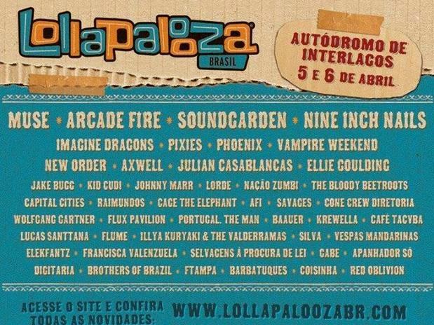 Lollapalooza Brasil 2014