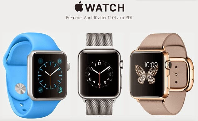 Apple Watch preorders will start on April 10 - Updatetech