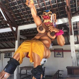 Bona Village. Bali. Bhuta Yaina.