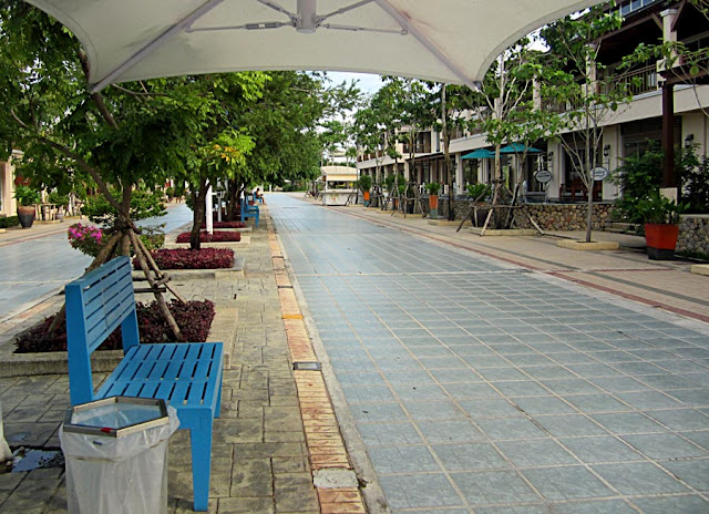 outdoor airport in Thailand
