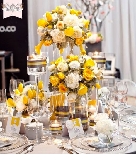 Jessica s events fall wedding trends yellows grays