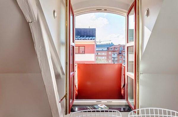 apartamentos modelo de janela